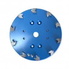 250mm Floor Grinding Plate Arrow